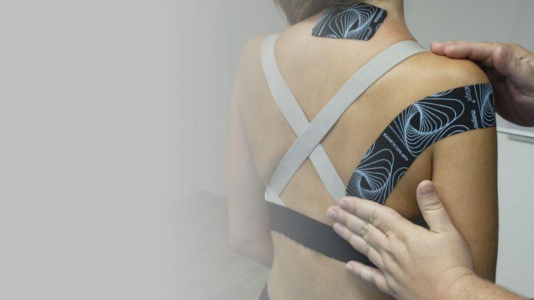 Mejora los resultados de tus tratamientos de fisioterapia con Magnetic Tape®