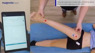 Lee más sobre el artículo Efecto de la aplicación lumbar de Magnetic Tape® sobre el ROM de cadera