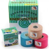 Pack 4 rollos de Kinesio temtex 5cm x5m